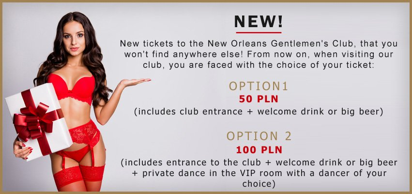NewOrleans New Ticket Promotion