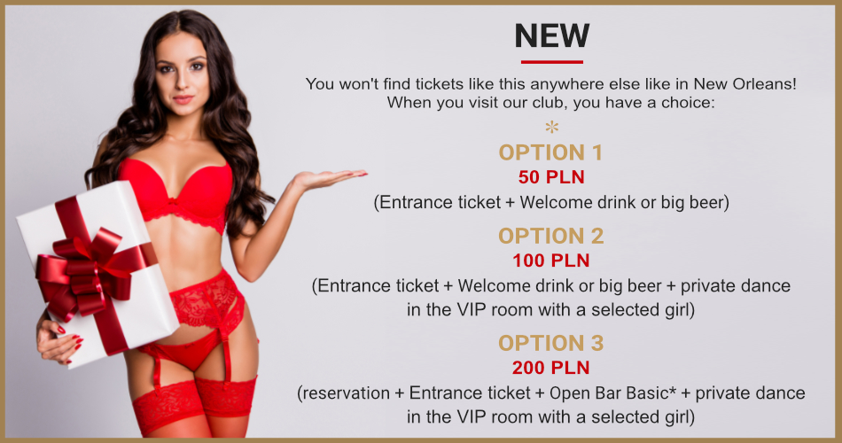 New Orleans entrance tickets promotion